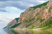 Скалы после притока Хатыстыр