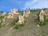 Небольшие скалы