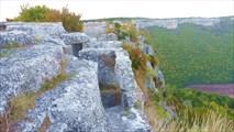 Пещеры в районе мыса Тешкли-бурун