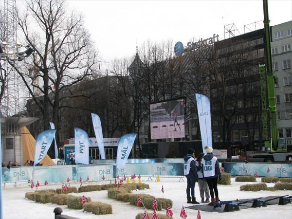 Детская площадка для биатлона