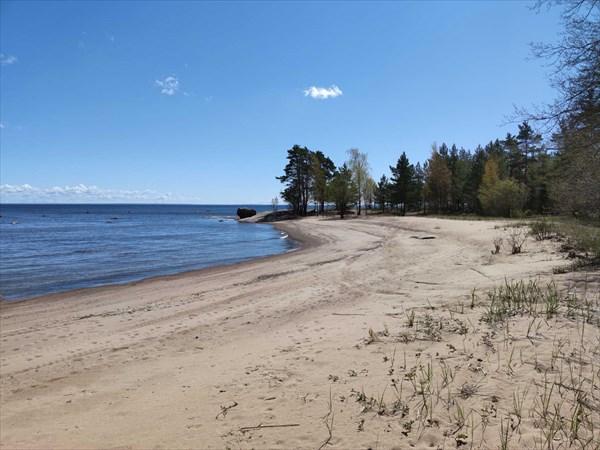Пляж южнее м. Грязный