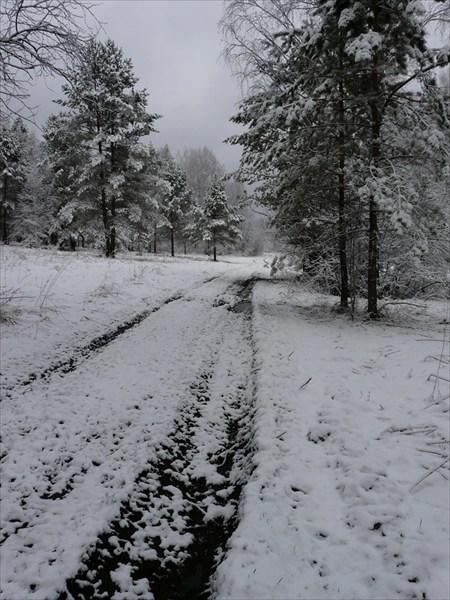 Зима в мае!