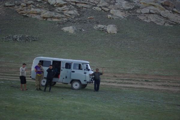 Автостоп в Монголии