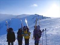 Лыжный поход к Поднебесным зубьям