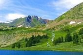Алтайский Северный горно-таёжный 77. Озеро Ив@на.