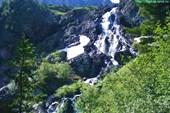 Водопад из озера Кок-Кёль. (Небесное озеро).