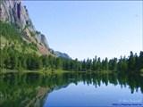 Озеро Уй-Мень (Моя Корова). 100 км до ближайшего жилья.