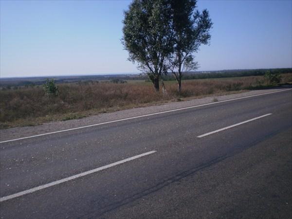 Дорога в Мариуполь.
