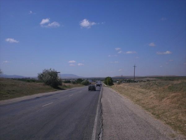 Дорога в Коктебель.