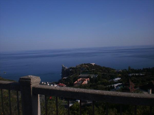 Севастопольское шоссе, серпантин.