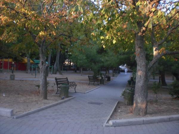 Форос, парк.