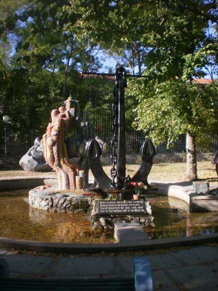 Памятник погибшим кораблям.
