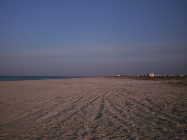 Последний пляж. Утро.