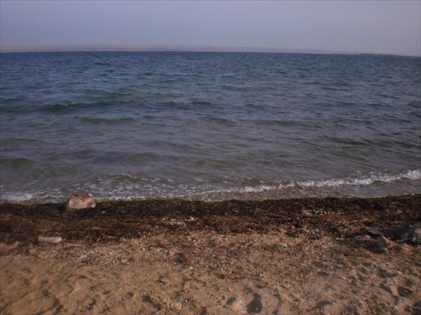 Вот здесь уже можно купаться.