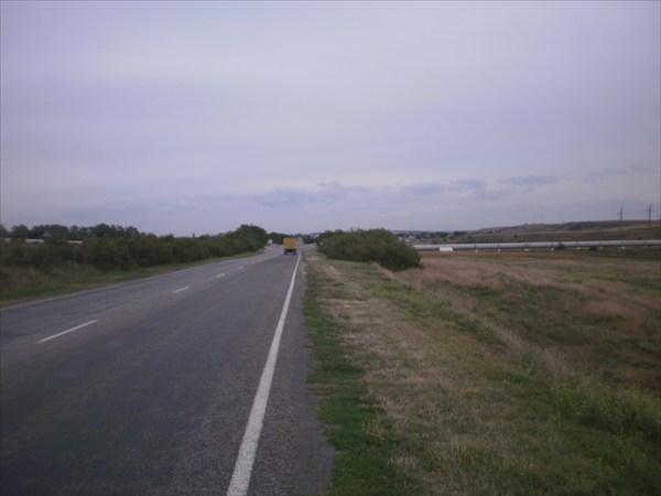Дорога в Симферополь.