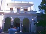 Ливадийский дворец. Главный вход.