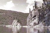 Телецкое озеро - мыс Айран