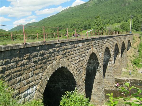 Мост перед Старой Ангасолкой