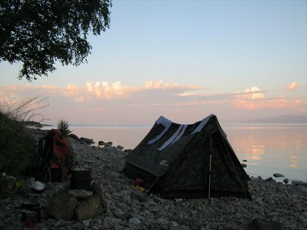 Ночевка на Байкале