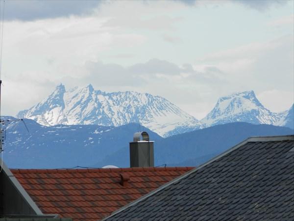 Горы, вид из Мольде