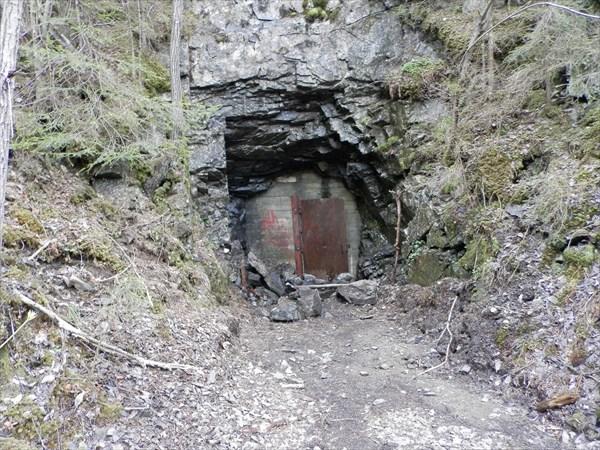 Внезапный вход в тайную пещеру