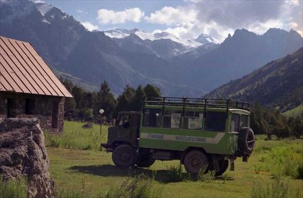 Самый подходящий транспорт для поездок по Фанам.