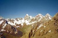 Вершины в верховьях Арга.