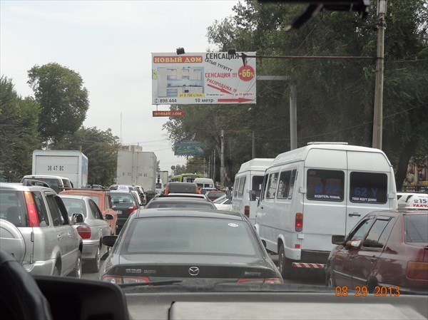 Бишкек. Пробки похлеще, чем в Москве.