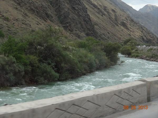 Река Чу.