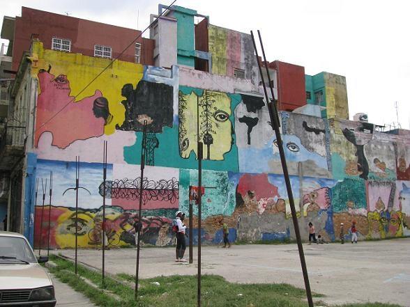 Кубинское графити