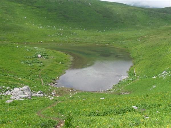 Озеро Псенодах :естественное хранилище питьевой воды