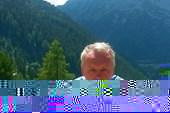 Автор публикации в Альпах