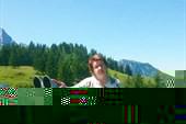 Смотровая площадка в Альпах