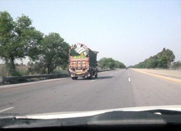Пакистанский автобан А1 до Лахора