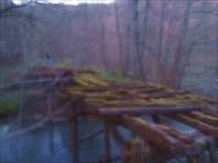 Преодоление моста в сумерках