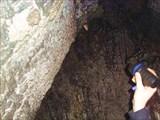 А когда шли внутрь пещеры, мы тебя не заметили...