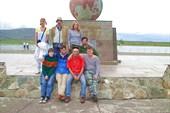 Группа в центре Азии.