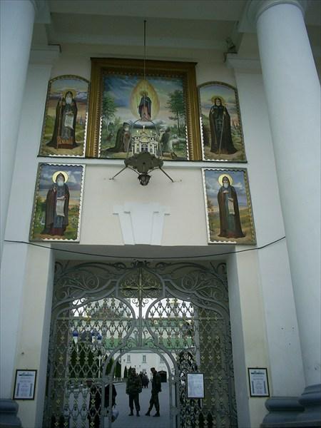 глвные ворота