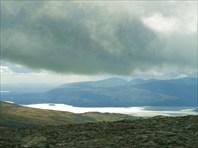 Умбозеро с перевала Геологов