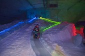 Скоростные ледяные горки в пещере Муми-троллей