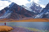 Перевальное озеро.