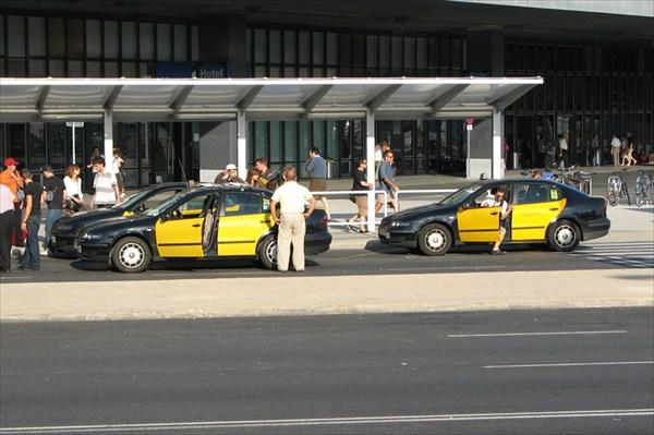 Барселона. Такси