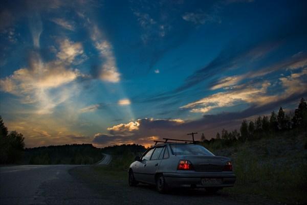 предгорье Урала