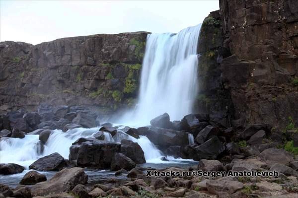 Водопад Oexarafoss
