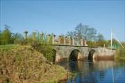 Мост в деревне Дубно