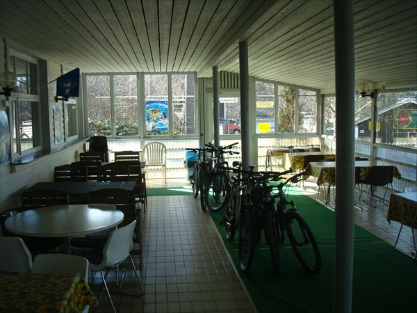 А вот так отдыхали наши велосипеды