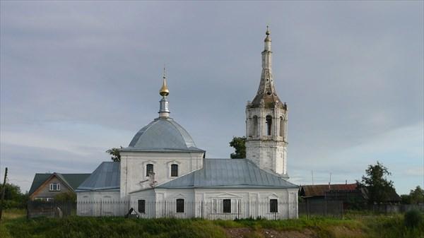 Романово. Церковь Рождества Пресвятой Богородицы