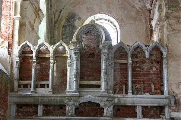 Внутри Рдейского монастыря