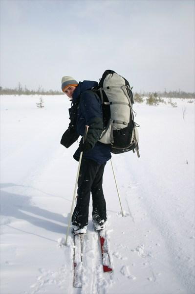 Лыжный поход к Рдейскому монастырю.
