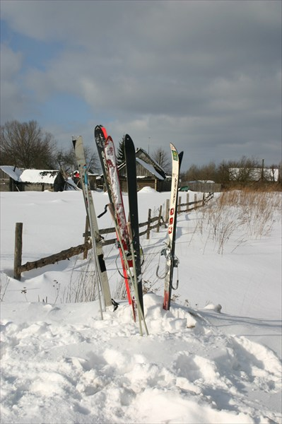Наши лыжи